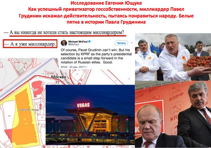 Грудинин Павел Николаевич, миллиардер