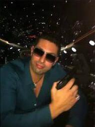 Илья Белоус в ночном клубе
